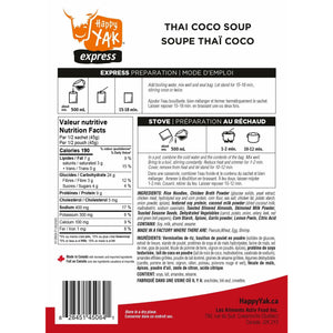 Thai Coco Soup (Gluten Free) - The Trip Shed