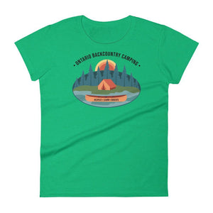 OBC Women's T-Shirt: Campsite - The Trip Shed