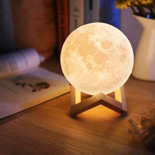 3D Print Moon Light Lamp