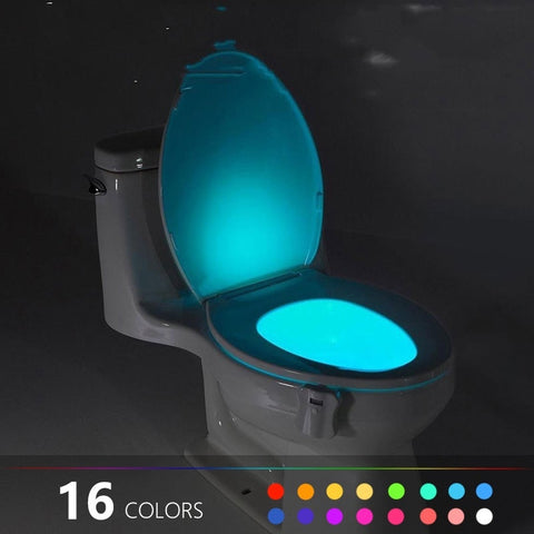 Body Sensing Automatic Bathroom Night Lamp