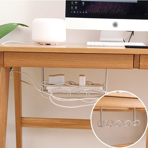 Under-table Storage Rack Table