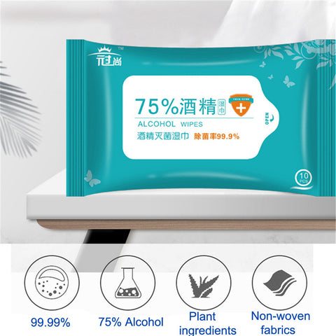75% Disinfecting Alcohol Wipes