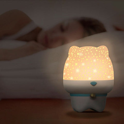 Starry Sky Night Light Bluetooth Speaker