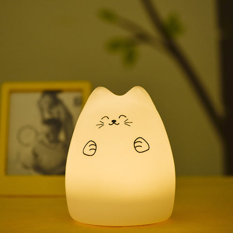 Cat LED USB Children Night Light