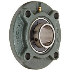 4 Bolt Round Cartridge Bearing & Housings Supplier, UK