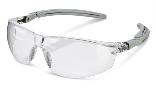 Clear Lens Ergonomic Temple Safety Glasses BBH20 (SINGLE OR MULTI-PACK)