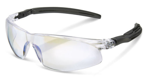 Clear Lens Ergonomic Temple Safety Glasses BBH50 (SINGLE OR MULTI-PACK)