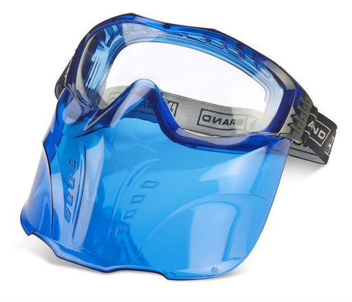 (SINGLE OR MULTI-PACK) Hamilton Goggle and Visor Blue BBHAMCV1