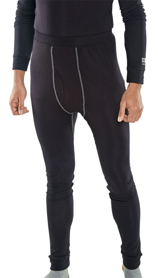 Base Layer Long John Black BLLJ