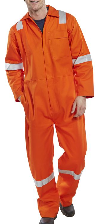Fire Retardant Nordic Design Boiler Suit Orange CFRBSNDOR