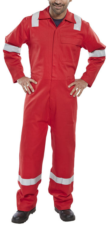 Fire Retardant Nordic Design Boiler Suit Red CFRBSNDRE