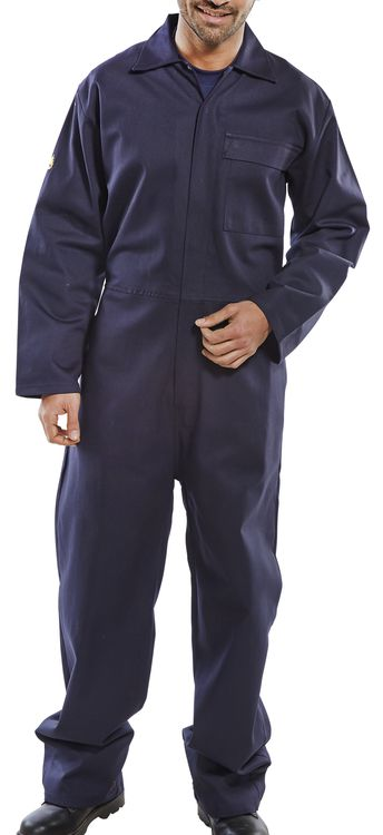 Fire Retardant Boiler Suit Navy CFRBSN