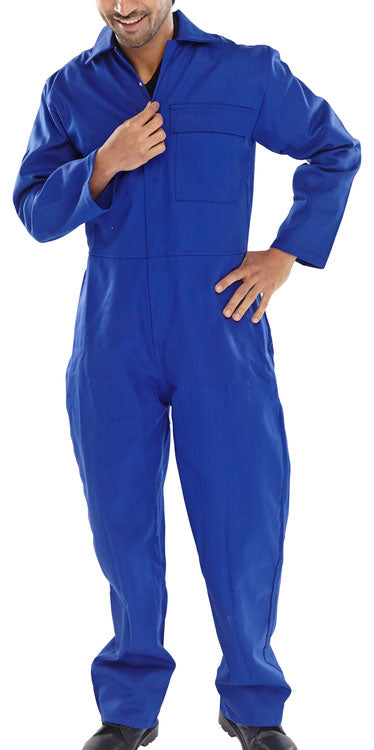 Fire Retardant Boiler Suit Royal Blue CFRBSR