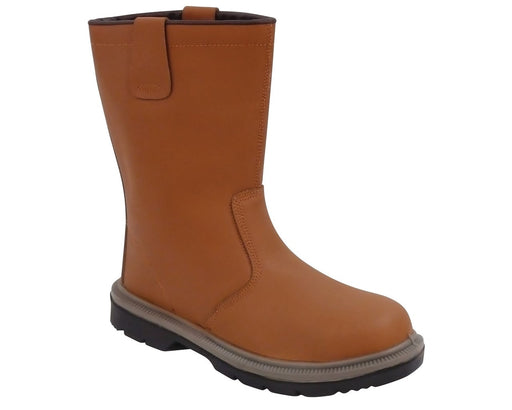 Steelite Rigger Boot S1P HRO Tan (Unlined) FW06T