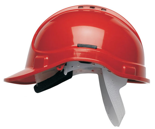 HC300 Vented Elite Helmet Red HC300VELR