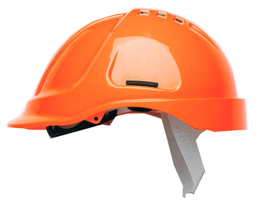 HC600 Vented Helmet Hi-Vis Orange HC600VHO