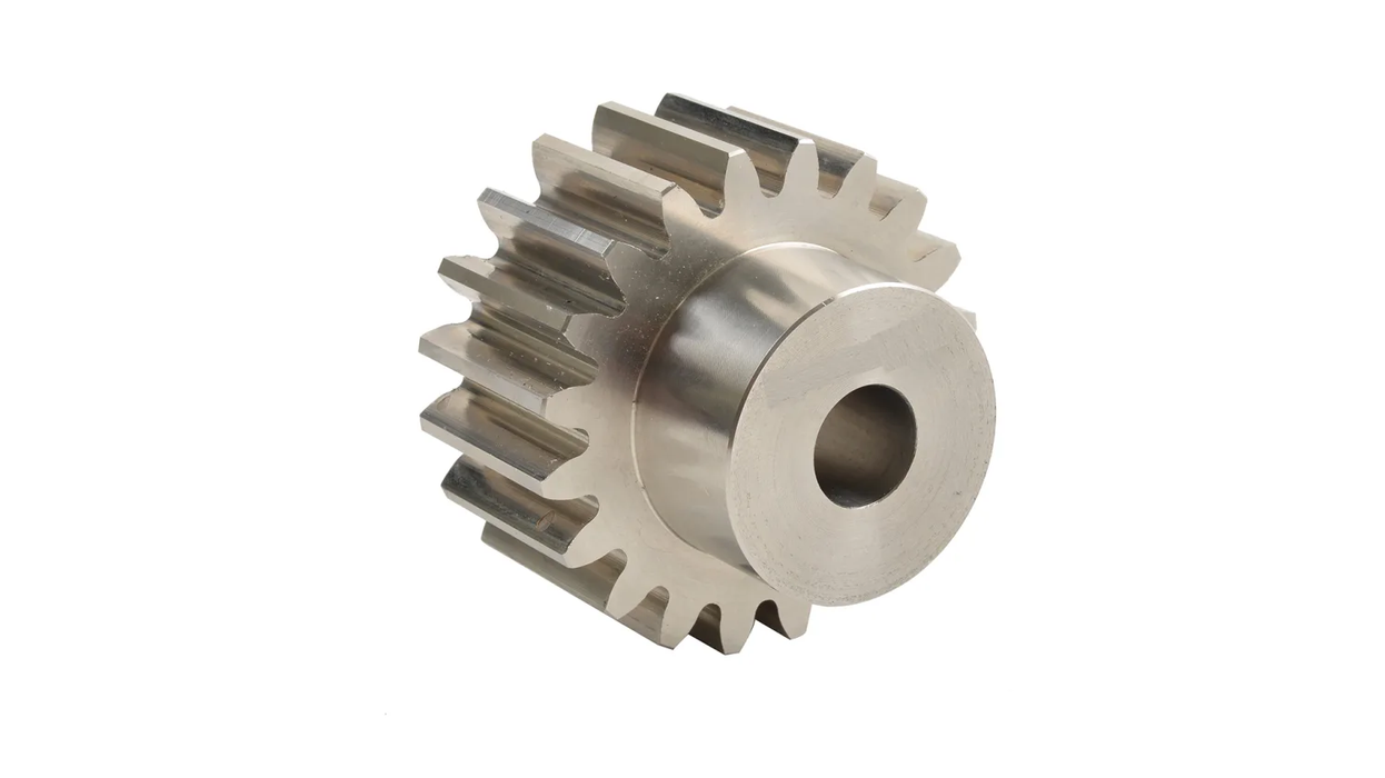 1-Mod-x-17-Tooth-Metric-Spur-Gear-in-Steel