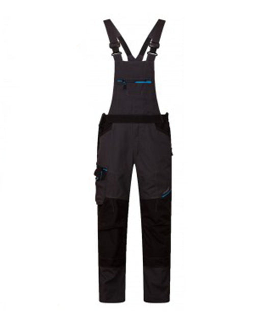 WX3 Bib and Brace Black T704BK