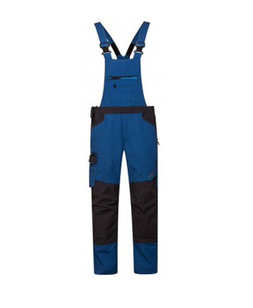 WX3 Bib and Brace Blue T704BL
