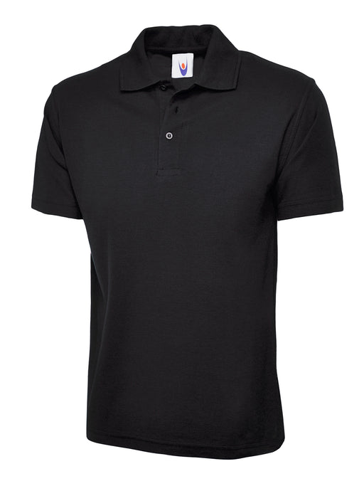 Childrens Polo Shirt Black UC108BK