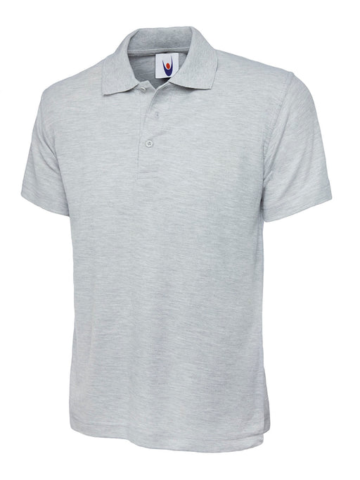 Childrens Polo Shirt Heather Grey UC108HG