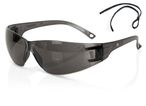 (BOX OF 10) Grey Performance Wrap Around Spectacle ZZ0090GY