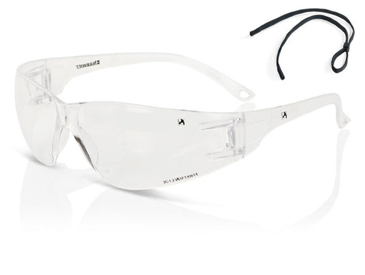 (BOX OF 10) Clear Performance Wrap Around Spectacle ZZ0090