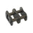 "12B-2 3/4"" - BS Duplex Roller Chain - No26 Connecting Link"