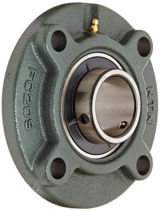 ucfc202-15mm-bore-metric-4-bolt-round-cartridge-self-lube-housed-bearing