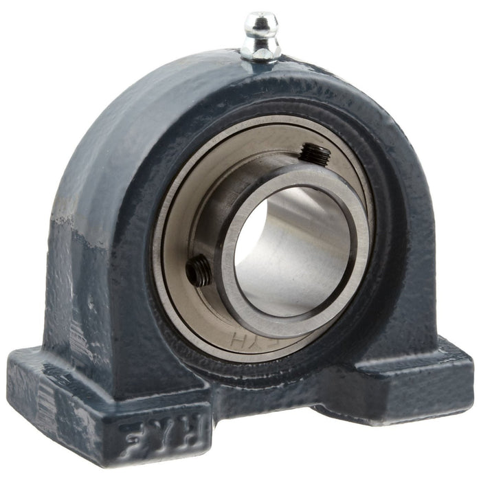 ucpa202-15mm-metric-cast-2-bolt-iron-short-based-pillow-block-housed-bearing