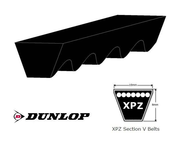 XPZ SECTION COGGED VEE BELT - CHOOSE LENGTH