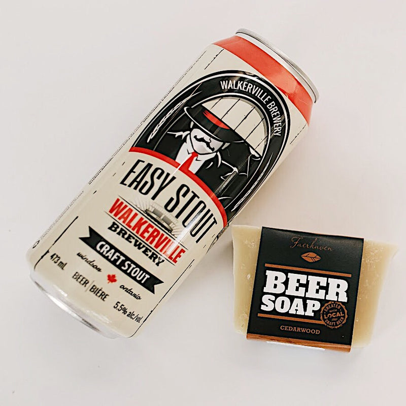 Cedarwood Beer Soap
