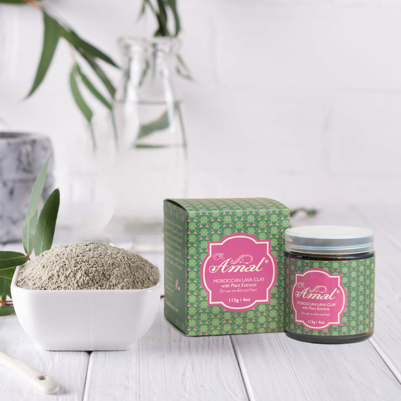 Moroccan Lava Clay with Plant Extracts