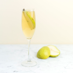 Tea Cocktail Infusion - Elderflower Pear Spritzer