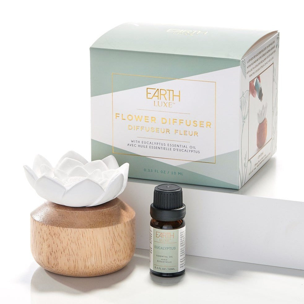Flower Diffuser with Essential Oil