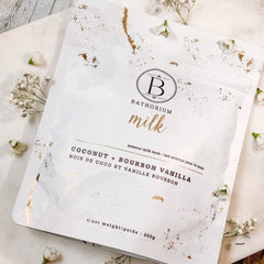 Coconut + Bourbon Vanilla MILK Bath Soak