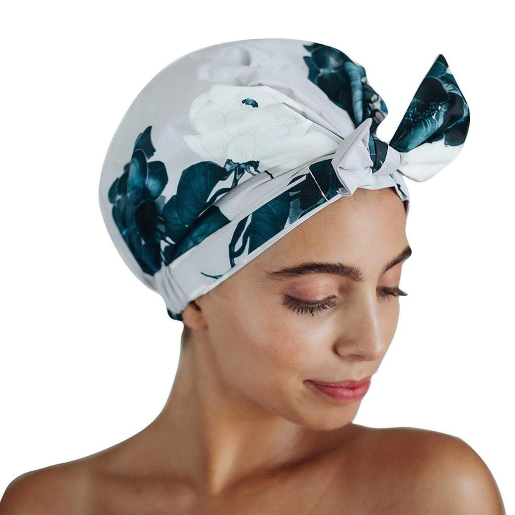 Luxe Shower Cap - Floral