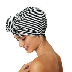 Luxe Shower Cap - Stripe