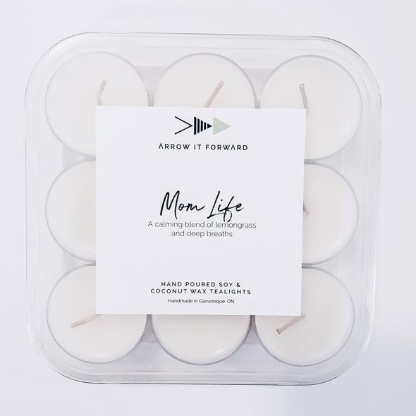 Mom Life Tea Lights (Set of 9)
