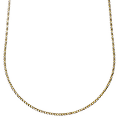 Nancy Chain Necklace Long Gold