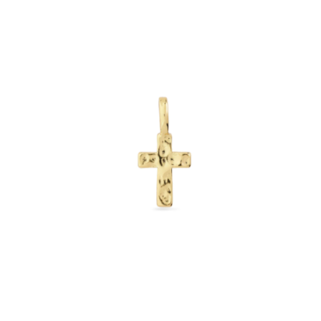 Cross Charm Gold