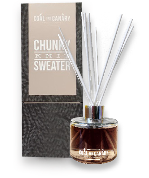 Reed Diffuser - Chunky Knit Sweater
