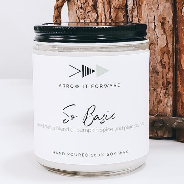So Basic Soy Wax Candle