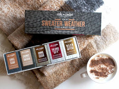 Candle Box Set - Sweater Weather Collection
