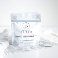 Charcoal Garden Detox CRUSH Bath Soak