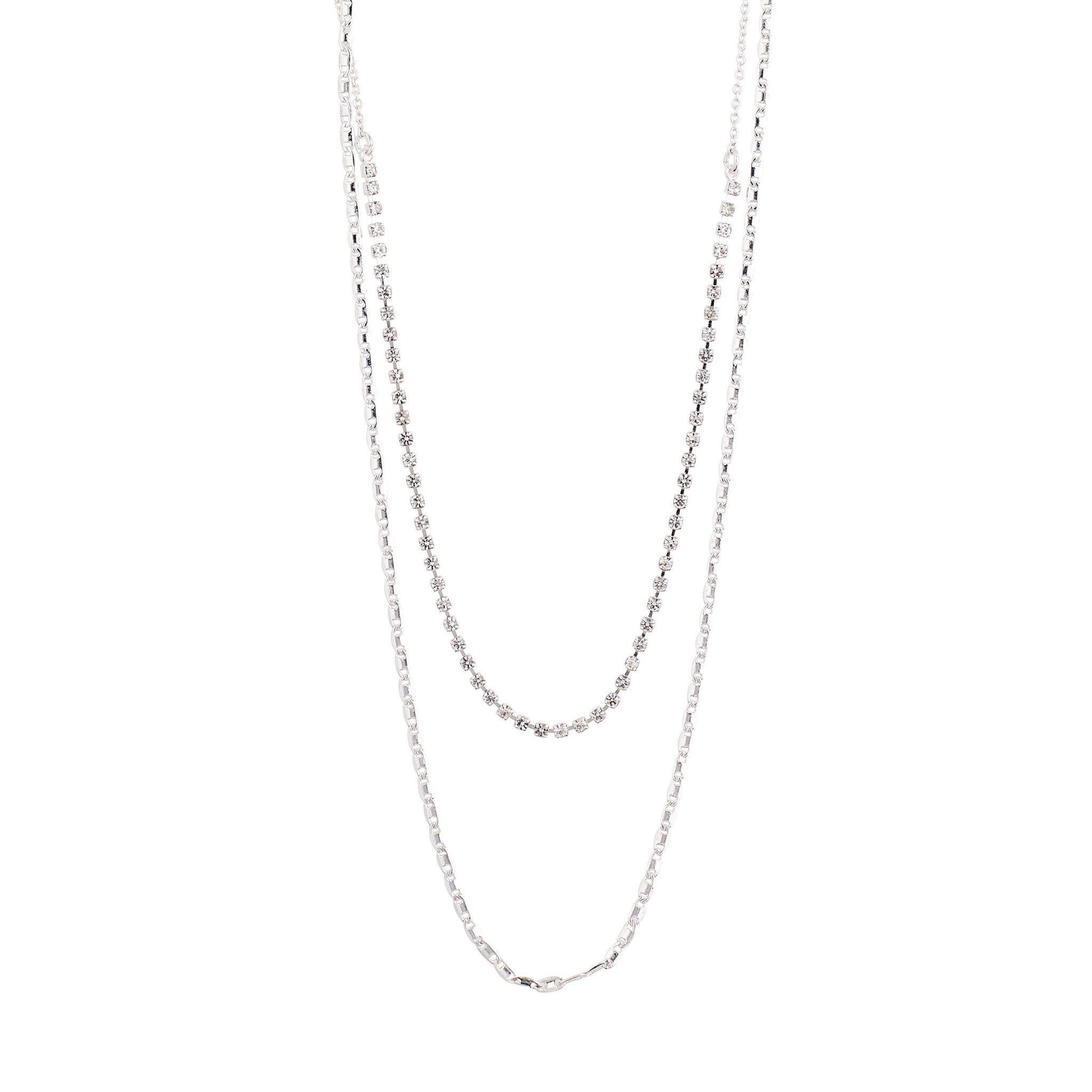 Cherished 2-in-1 Necklace - Silver