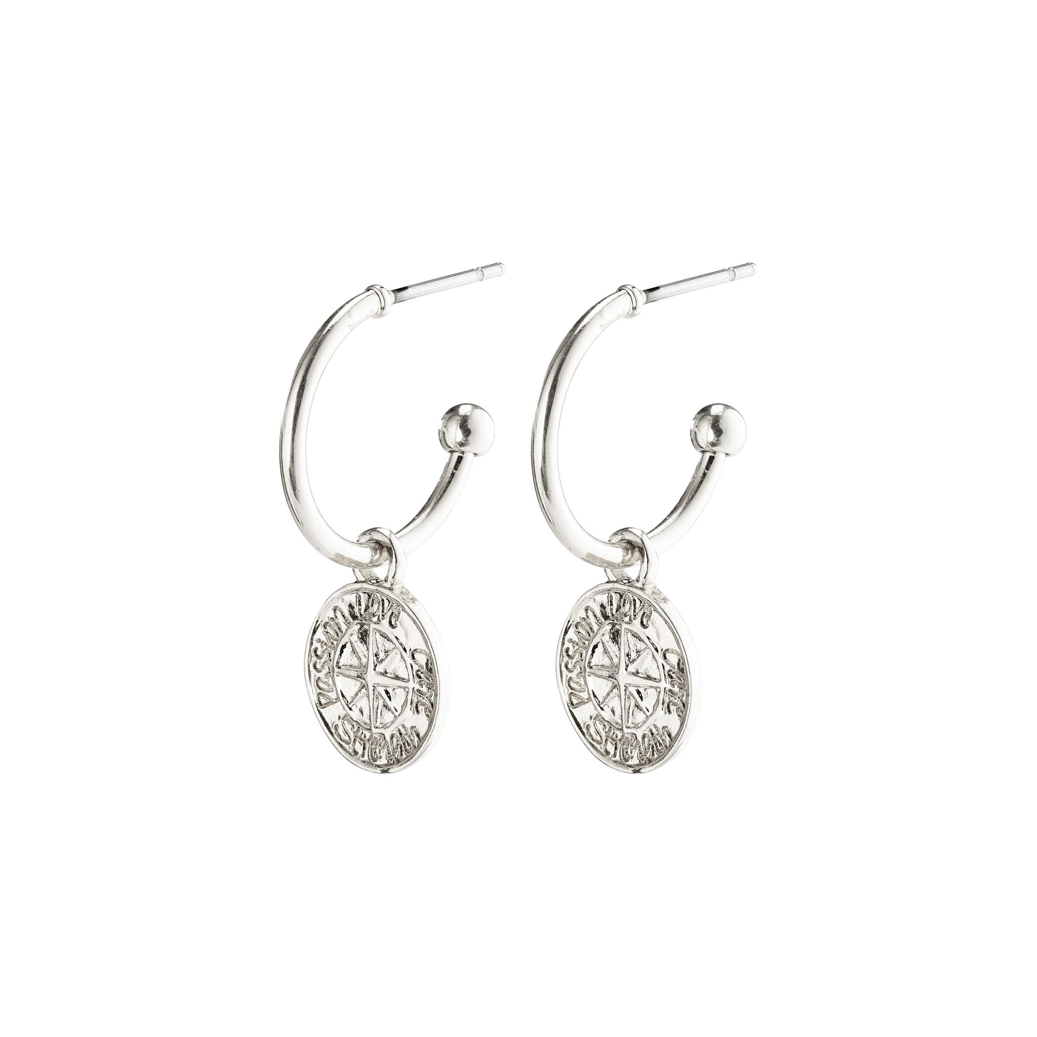 Gerda Earrings - Silver