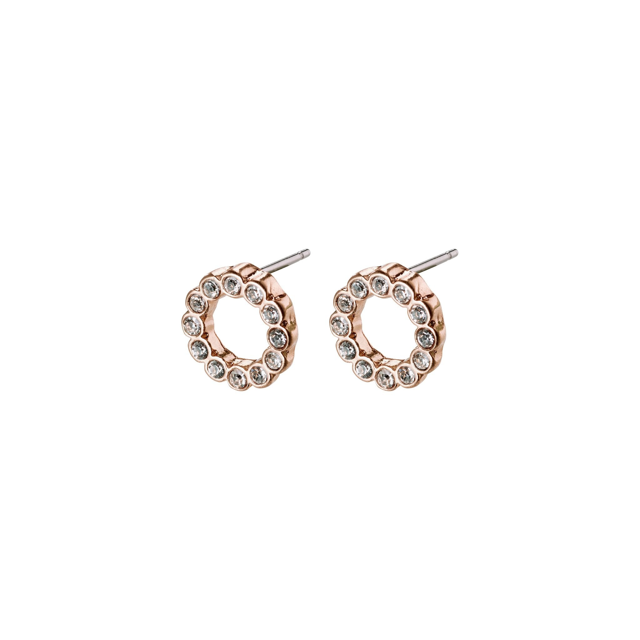 Malin Earrings - Rose Gold