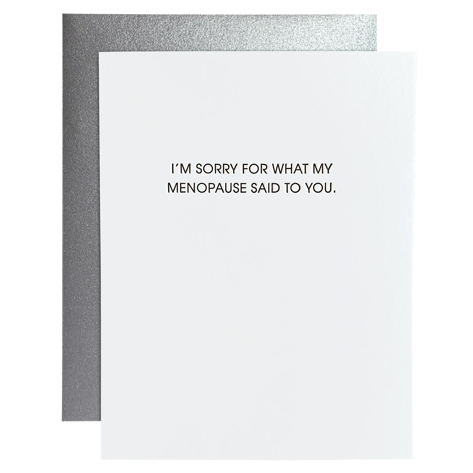 Card - My Menopause Said..