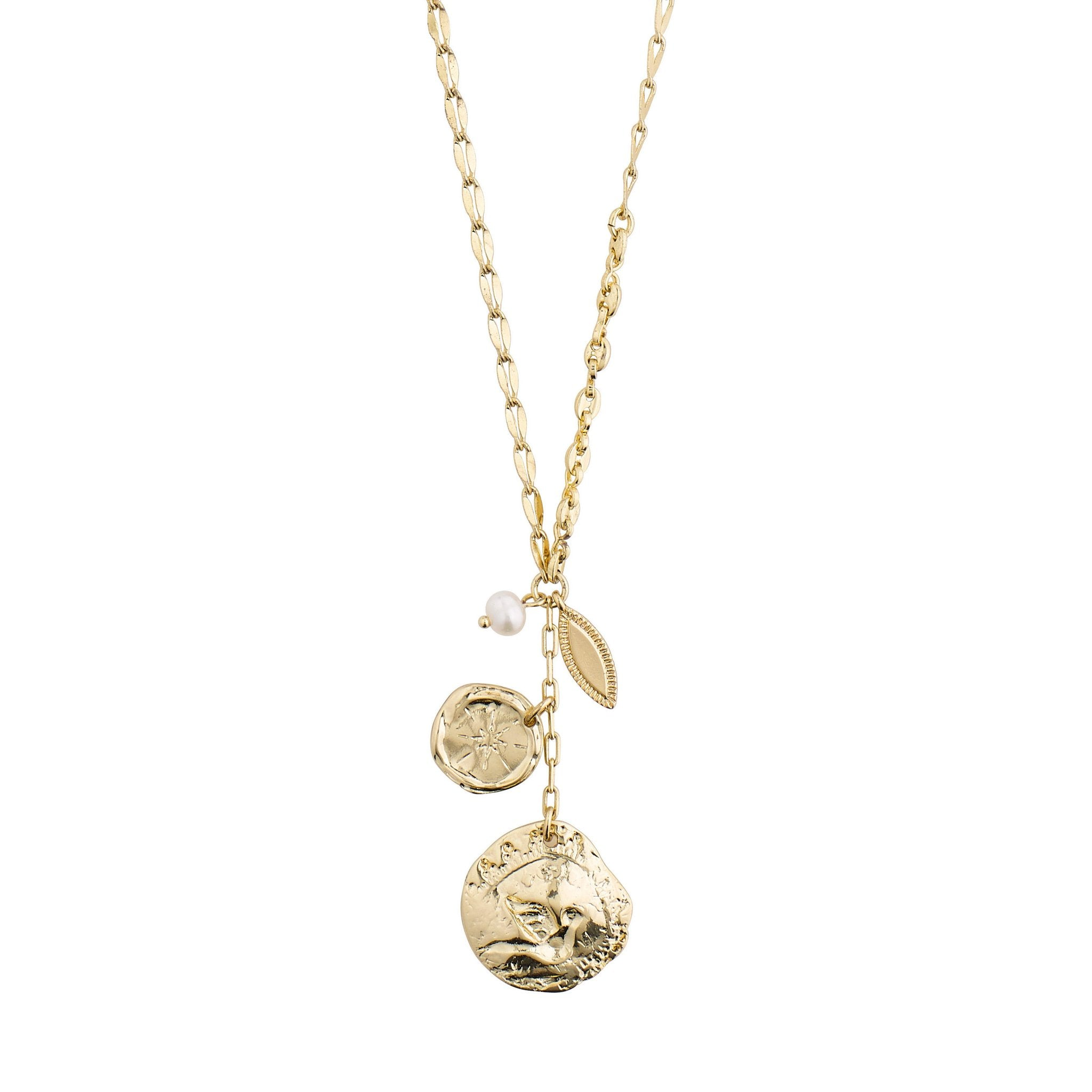 Poesy Necklace - Gold